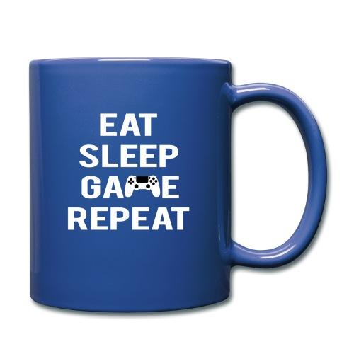 Eat, sleep, game, REPEAT - Full Colour Mug