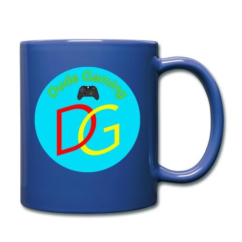 Dude Gaming - Ensfarvet krus