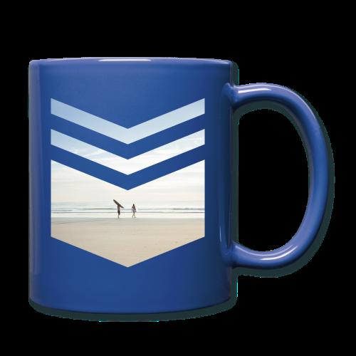 Surfing Beach - Tasse einfarbig