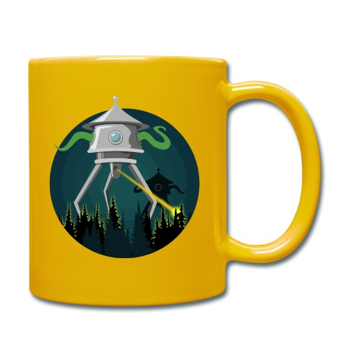 Aliens from The War of the Worlds - H. G. Wells - Tazza monocolore