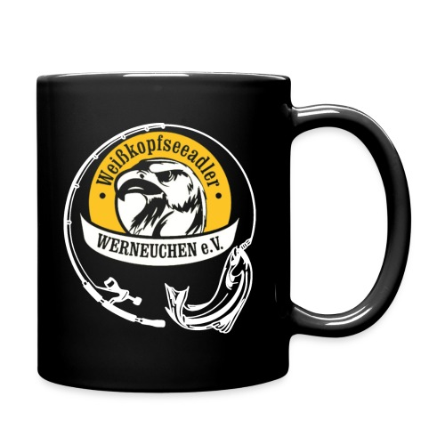 Angelvereien Weißkopfseeadler Werneuchen e.V. Logo - Tasse einfarbig