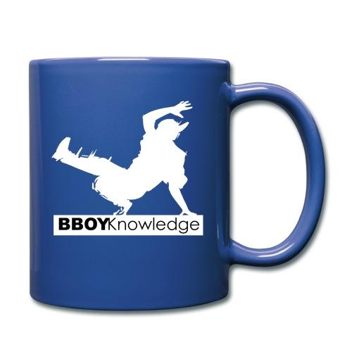 bboy knowledge Blanc & Noir - Mug uni