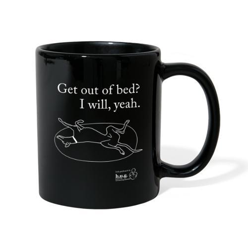 Greyhound roaching - Full Colour Mug
