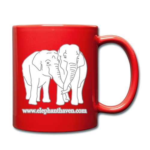 Elephants - Full Colour Mug
