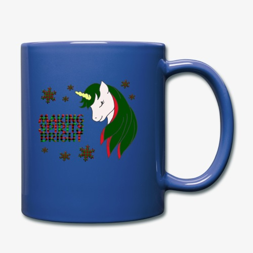 Unicorn making spirit bright - Mug uni