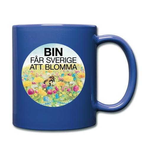 Bin får Sverige att blomma - Enfärgad mugg
