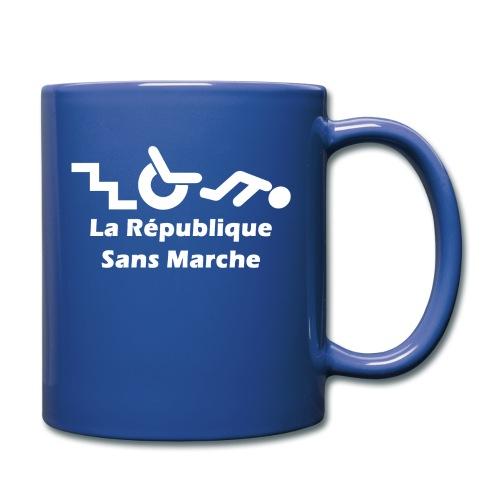 La République Sans Marche - Blanc - Mug uni