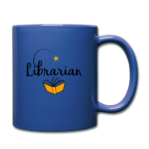 0326 Librarian & Librarian - Full Colour Mug