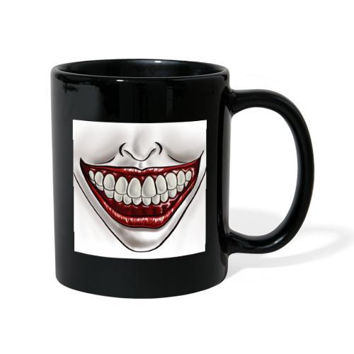 Smile Maske - Tasse einfarbig