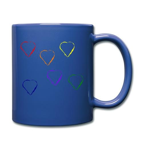 Tanzende Herzen 20.1 - Tasse einfarbig