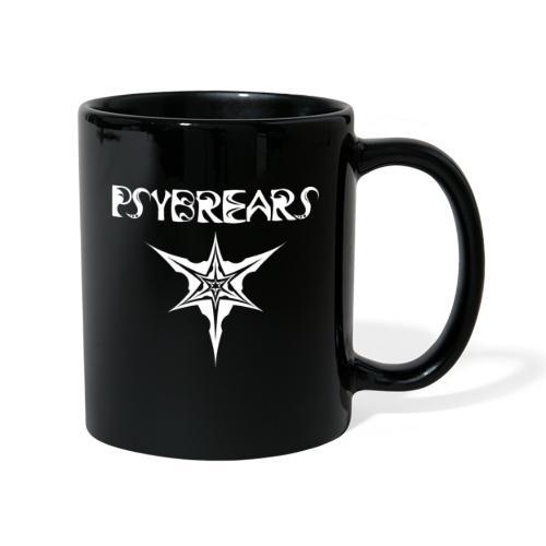 Psybreaks visuel 1 - text - black white - Mug uni