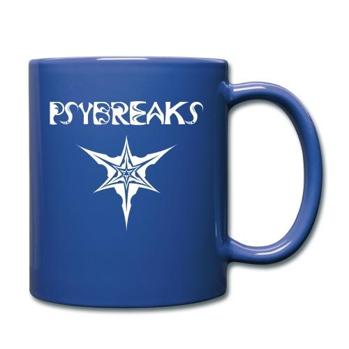 Psybreaks visuel 1 - text - white color - Mug uni
