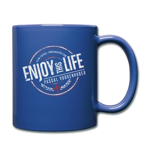 Enjoy this Life® & Fleur de Lys Pascal Voggenhuber - Tasse einfarbig