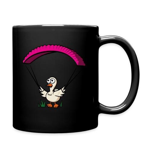 Groundhendl Groundhandling Hendl Paragliding Huhn - Tasse einfarbig