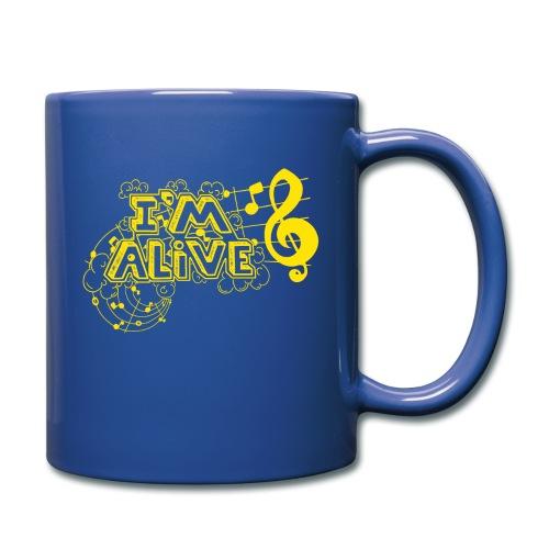 i m alive geel png - Mok uni