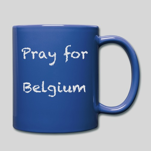 Pray for Belgium - Mug uni