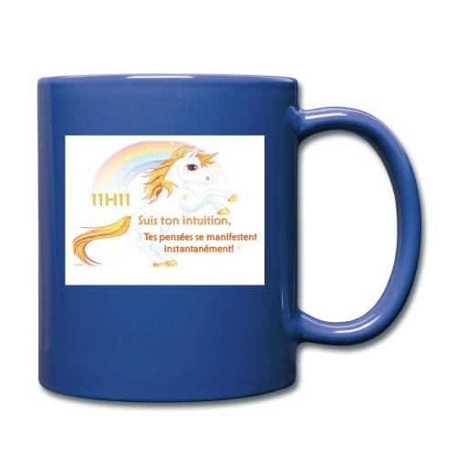 11h11 licorne or - Mug uni