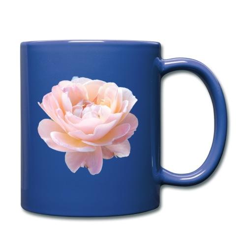 A pink flower - Full Colour Mug
