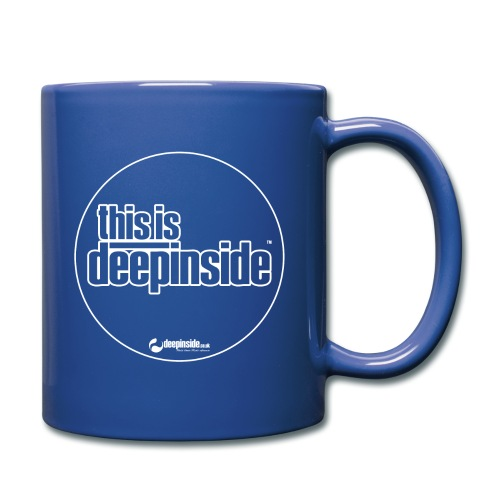 This is DEEPINSIDE Circle logo white - Full Colour Mug