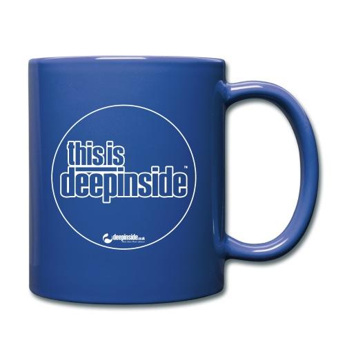 This is DEEPINSIDE Circle logo white - Full Colour Mug