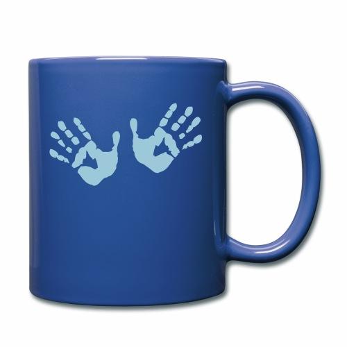 Hands - Hände - Tasse einfarbig