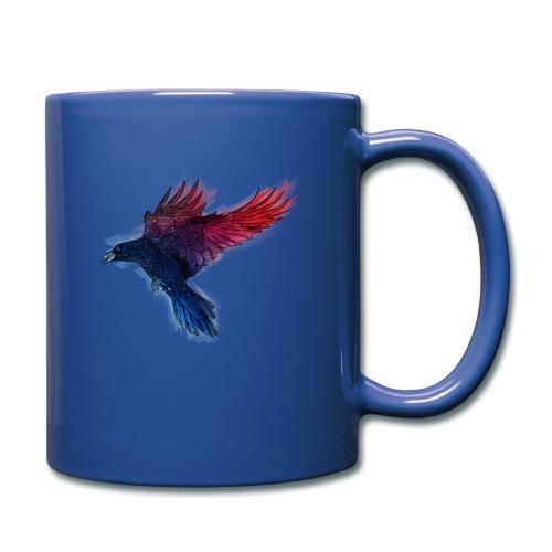 Watercolor Raven - Tasse einfarbig