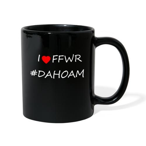 I ❤️ FFWR #DAHOAM - Tasse einfarbig