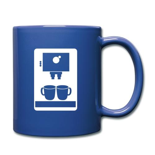 Kaffemaskin - Enfärgad mugg