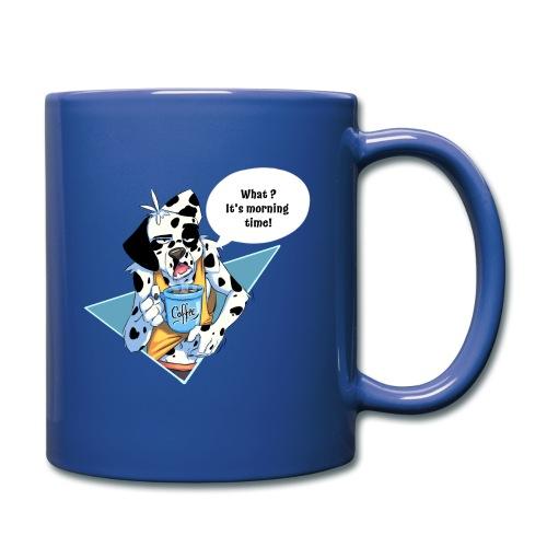 Dalmatien avec son café du matin - Mug uni