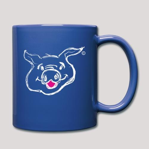 HAPPY PIGPIGGY White - Full Colour Mug