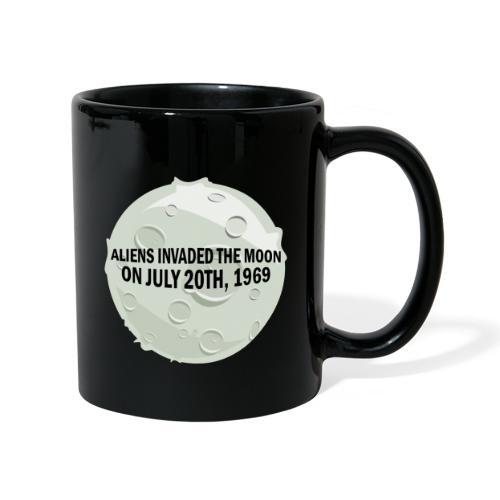 Aliens Invaded The Moon 🌜 - Full Colour Mug