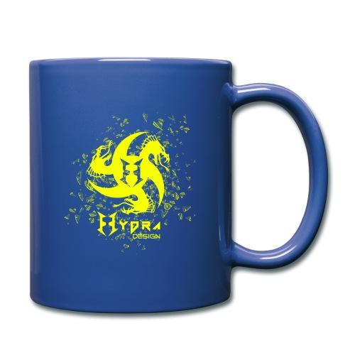 Hydra Design - logo glass explosion - Tazza monocolore
