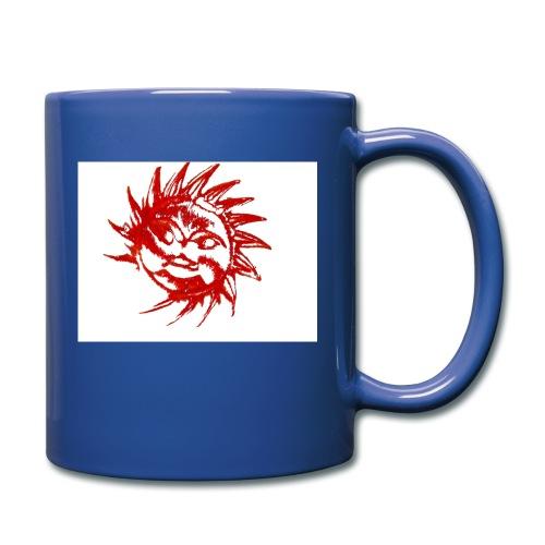 A RED SUN - Full Colour Mug