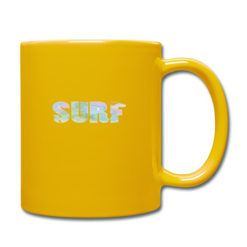 Surf summer beach T-shirt - Full Colour Mug