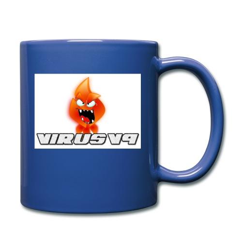 Virusv9 Weiss - Tasse einfarbig