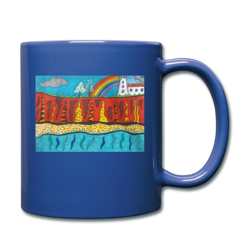 Lighthouse on the Cliff - Full Colour Mug