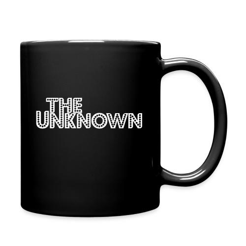The Unknown Logo white - Ensfarvet krus