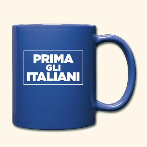 Prima gli italiani - Tazza monocolore
