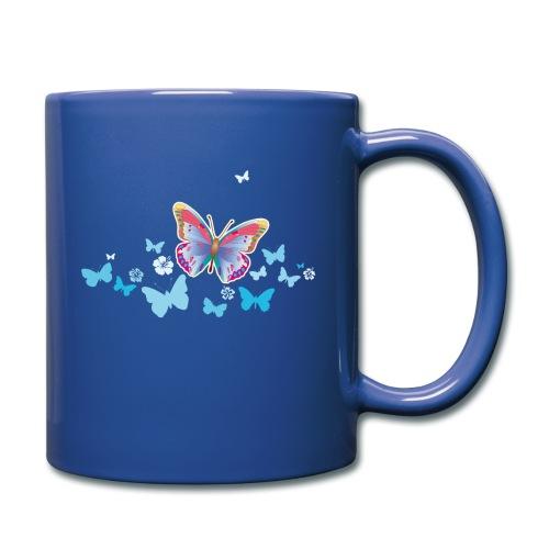 Schmetterlinge Falter Insekten Frühling Sommer - Full Colour Mug