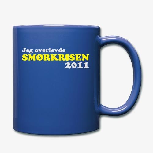 Smørkrise 2011 - Norsk - Ensfarget kopp