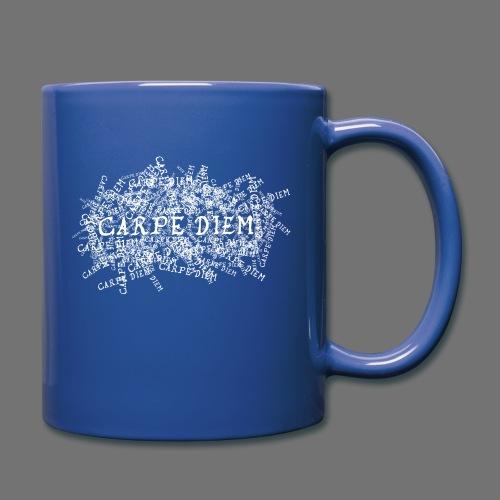 carpe diem (white) - Full Colour Mug