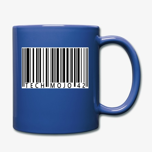 TM graphic Barcode Answer to the universe - Full Colour Mug