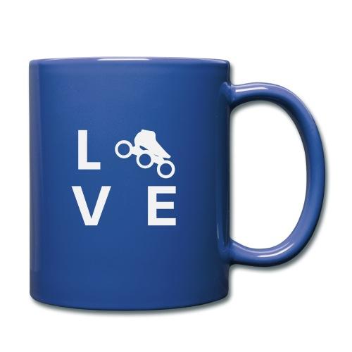 Speedskating Liebe - Tasse einfarbig