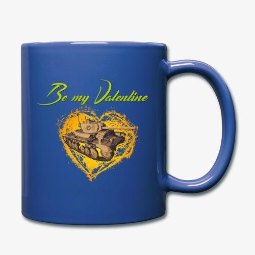 Glowing Valentine Heart - Tasse einfarbig