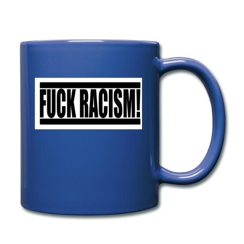 #FuckRacism - Enfärgad mugg
