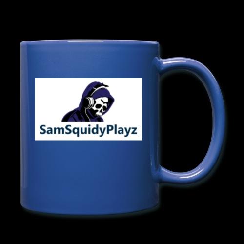 SamSquidyplayz skeleton - Full Colour Mug