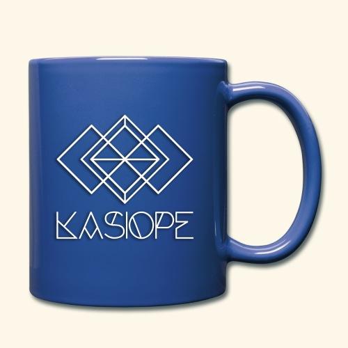Logo Kasiope blanc - Mug uni