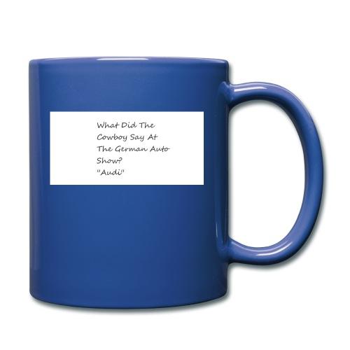 Car Joke - Full Colour Mug