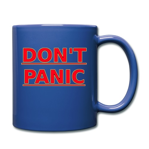 DON T PANIC - Full Colour Mug