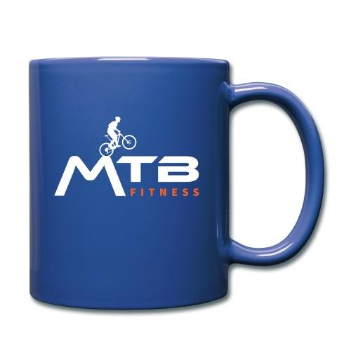 Subtle MTB Fitness - White Logo - Full Colour Mug
